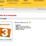 Imagen del libro de Ciencias Sociales en gallego ANAYA, LOMCE tomada el 15/06/14