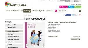 Imagen del Libro de Ciencias Sociales SANTILLANA en Gallego, LOMCE, tomada el 15/06/14